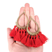 Teardrop Tassels Earrings