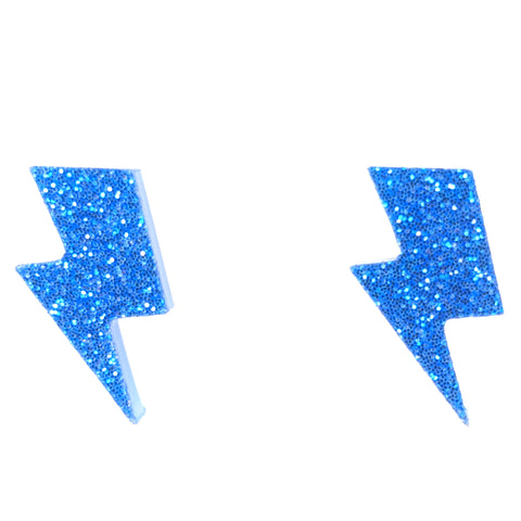 Lightning Earrings (Studs)