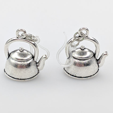 Tea Kettle Earrings