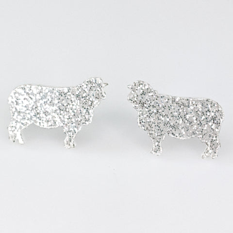 Sheep Glitter Earrings