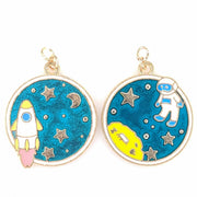 Space Walk Earrings