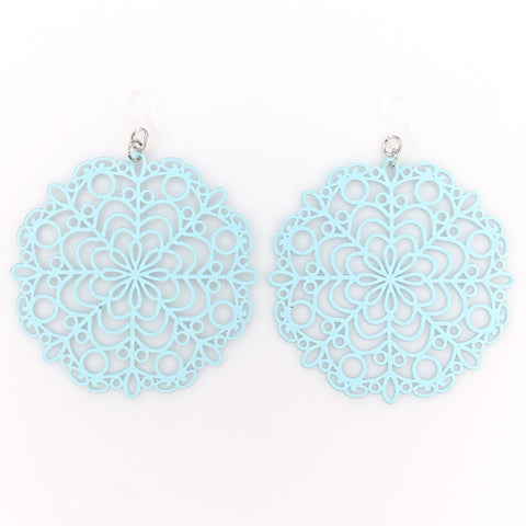 Bubble Wand Earrings (Dangles) - blue
