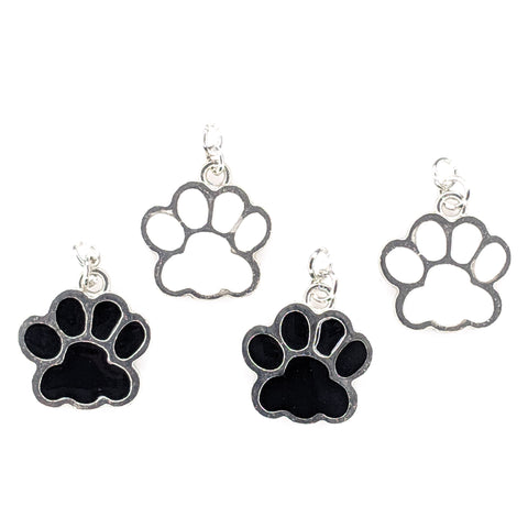 Paw Print Earrings (Dangles) - all colors