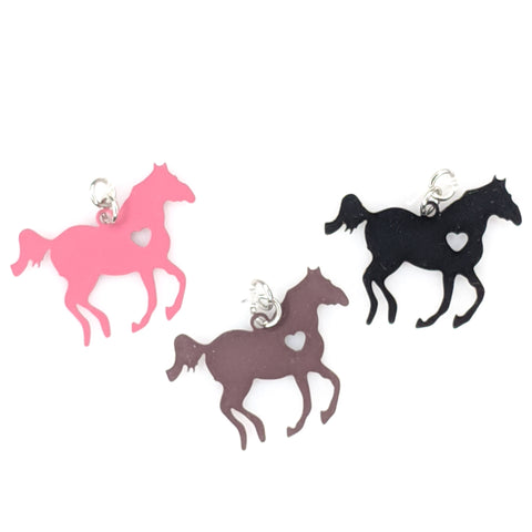 Galloping Horse Earrings (Dangles) - all colors
