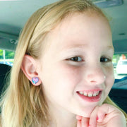 Heart Mermaid Earrings (Studs) - happy customer