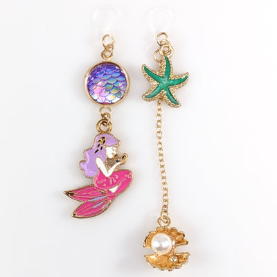 Under the Sea Earrings (Dangles) - gold