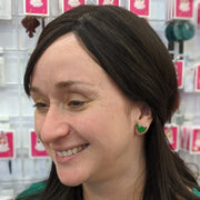 Dinosaur Earrings (Studs) - happy customer