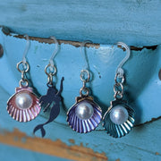 Oyster Earrings (Dangles) - all colors and details
