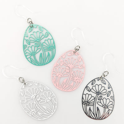 Spring Flower Earrings (Dangles) - All Colors
