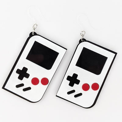Exaggerated Game Console Earrings (Dangles)