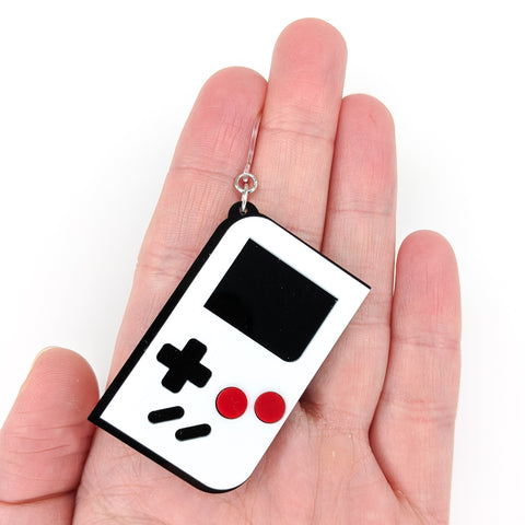 Game Console Earrings (Dangles) - size hand quarter