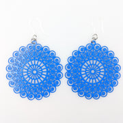 Whimsical Earrings (Dangles) - blue