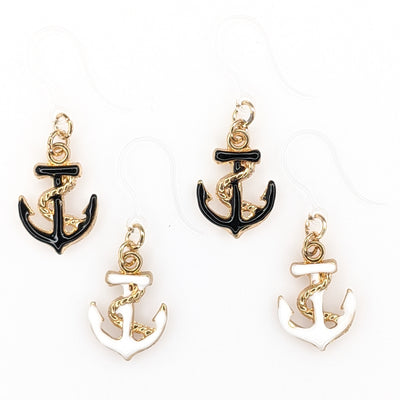 Anchor Earrings (Dangles) - all colors