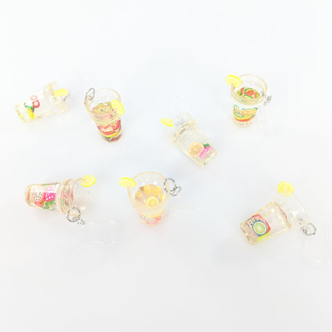 Fruit Drink Earrings (Dangles)