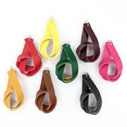 Faux Leather Knot Earrings (Dangles) - all colors