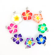 Plumeria Earrings & Necklace (Dangles)  - all colors