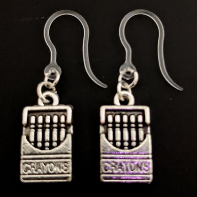Crayon Earrings (Dangles)