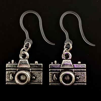 Camera Earrings (Dangles)