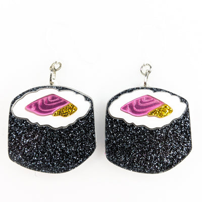 Exaggerated Sushi Earrings (Dangles)