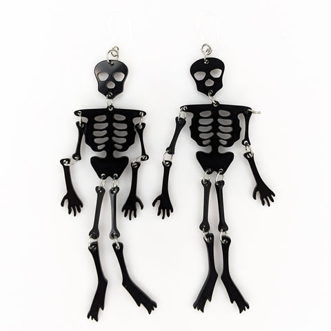 Exaggerated Skeleton Earrings (Dangles)