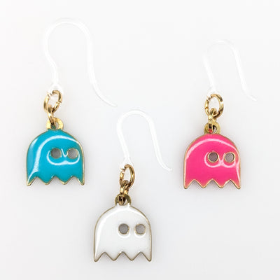 Colorful Ghost Earrings (Dangles) - all colors