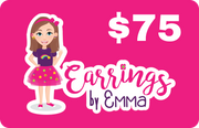 Digital Gift Card - earrings $75