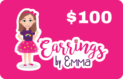 Digital Gift Card - earrings $100
