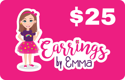 Digital Gift Card - earrings $25
