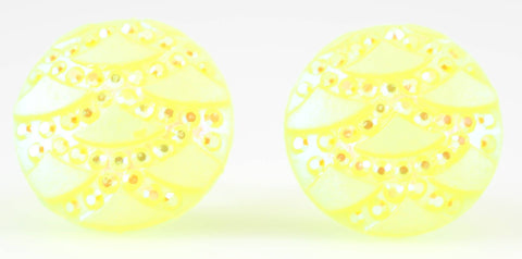 Sparkle Dome Earrings