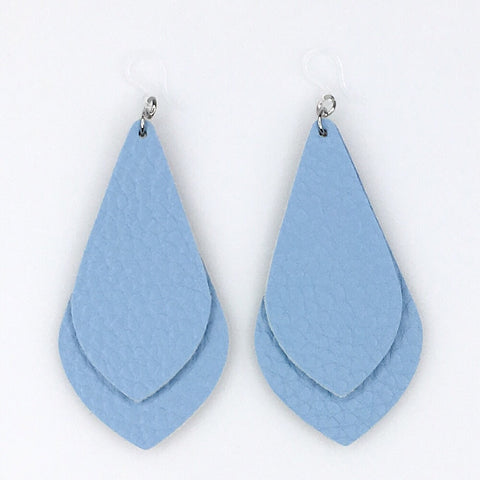 Double Layer Teardrop Earrings