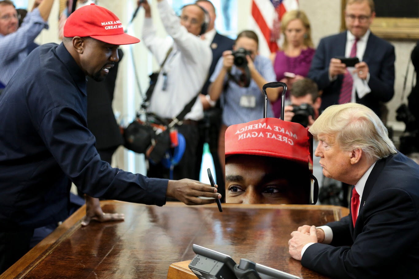Kanye's Interesting Meeting With President Trump