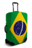 Brazil Flag luggage cover