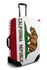 California Flag suitcase cover