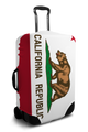 California Flag - Luggage Cover/Suitcase Cover