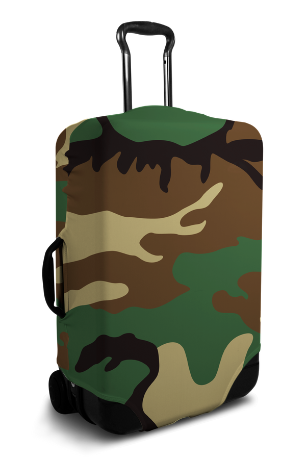 Camo - Luggage Cover
