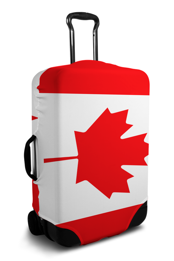 Canada Flag luggage cover