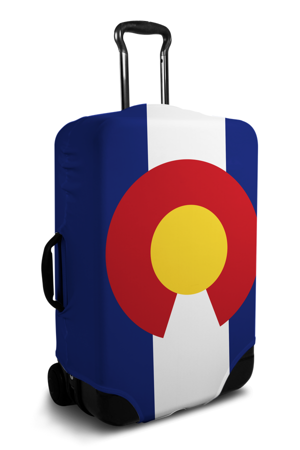 Colorado Flag luggage cover