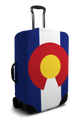 Colorado Flag - Luggage Cover/Suitcase Cover