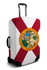Florida flag suitcase cover