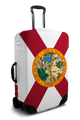 Florida Flag - Luggage Cover/Suitcase Cover