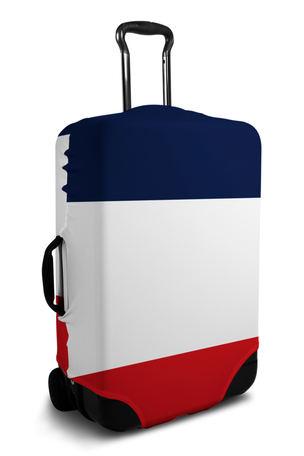 France Flag luggage cover