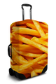 French Fries - Luggage Cover/Suitcase Cover
