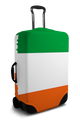 Ireland Flag - Luggage Cover/Suitcase Cover