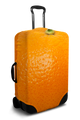 Orange - Luggage Cover/Suitcase Cover