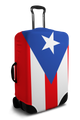 Puerto Rico Flag - Luggage Cover/Suitcase Cover