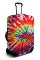 Red Tie Dye - Luggage Cover/Suitcase Cover