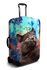 Space Cat luggage cover
