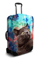 Space Cat - Luggage Cover/Suitcase Cover