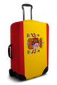 Spain Flag - Luggage Cover/Suitcase Cover
