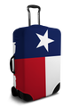 Texas Flag - Luggage Cover/Suitcase Cover
